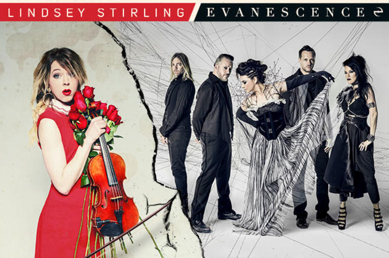 Lindsey Stirling & Evanescence - Tixtm, Ridgefield, Washington, United States