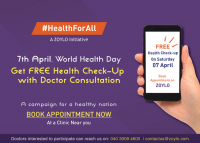 Get FREE Health Checkup & Doctor Consultation on 07th April 2018  from ZOYLO