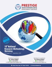 10th National Research Methodology Workshop