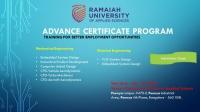 Advanced Training programme