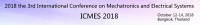 2018 3rd International Conference on Mechatronics and Electrical Systems (ICMES 2018)--Ei Compendex and Scopus