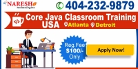 Core Java Classroom Training in the USA - NareshIT