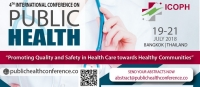 4th International Conference on Public Health 2018