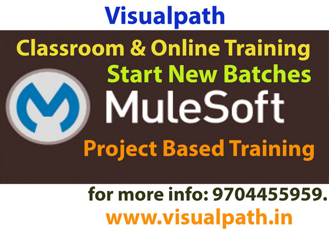 Mulesoft Online Training, Hyderabad, Andhra Pradesh, India