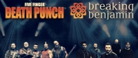 Five Finger Death Punch & Breaking Benjamin Tickets 2018 -Tixbag