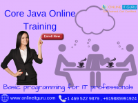 Core Java Online Training | Java Online Course