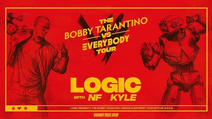 Logic, NF & Kyle Concert & Tour 2018 - TixBag, Maryland Heights, Missouri, United States