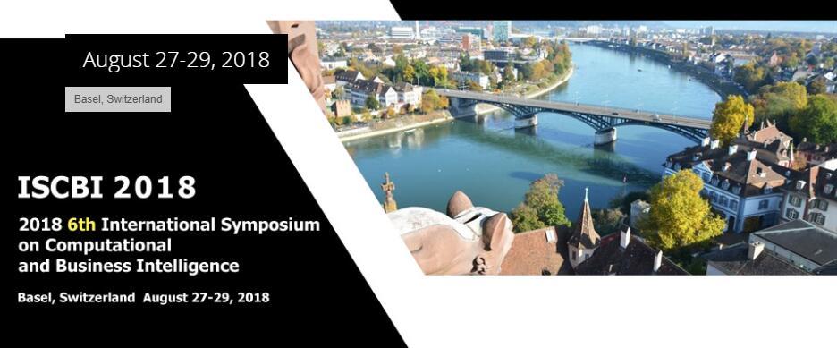 2018- 6th international symposium on computing  and business intelligence ISCBI, Basel, Basel-Stadt, Switzerland