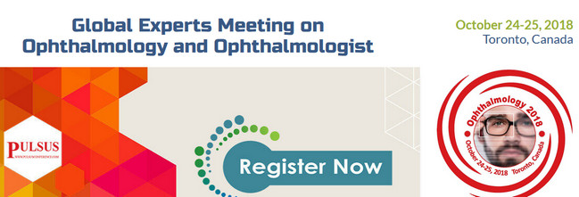 Global Experts Meeting on Ophthalmology and Ophthalmologist, Toronto, Canada