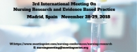 3rd International Meeting On Nursing Research and Evidence Based Practice