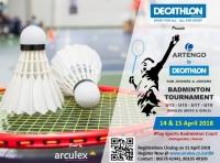 Artengo by Decathlon Badminton Tournament (Sub Juniors & Juniors)