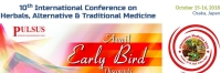 10th International Conference on Herbals, Alternative & Traditional Medicine