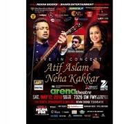 Atif Aslam and Neha Kakkar Live Concert in Houston