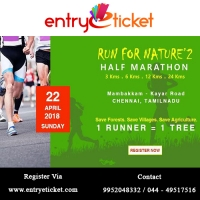 Run For Nature - Half Marathon In Chennai