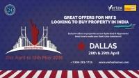 Vertex Home - India Property Show in Dallas