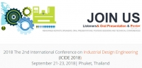 ACM--2018 The 2nd International Conference on Industrial Design Engineering (ICIDE 2018)--Ei Compendex,  Scopus