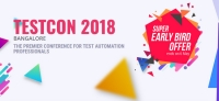 TestCon 2018- Bangalore (The premier conference for Test Automation professionals)