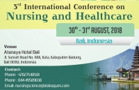 3rd International Conference on Nursing and Healthcare