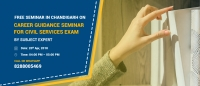 Free Career Guidance Seminar  by Subject Expert in Chandigarh