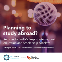 India's largest scholarship conclave for studying abroad