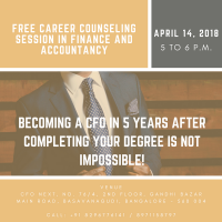 Career Counselling and Guidance Session in Finance & Accountancy