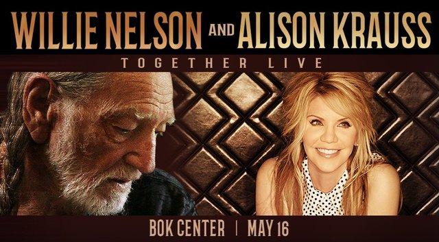 Willie Nelson & Alison Krauss Live Show Tickets at TixTM, Tulsa, Oklahoma, United States