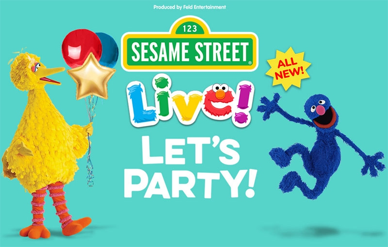 Sesame Street Live Tickets - Let's Party Tickets - TixBag.com, Binghamton, New York, United States