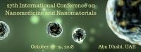 27th International Conference on  Nanomedicine and Nanomaterials
