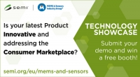 SEMI European MEMS & Sensors Summit 2018