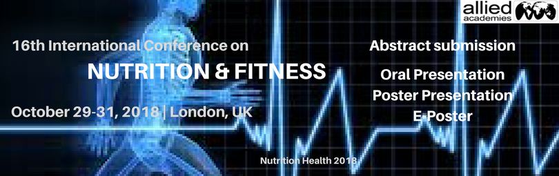 16th International Conference on Nutrition and Fitness, London, United Kingdom