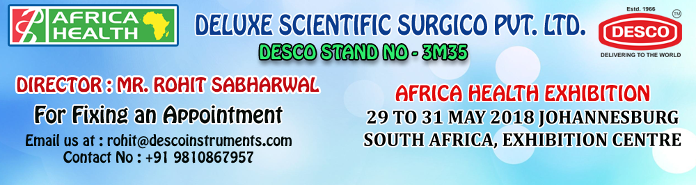 Africa Health Exhibition, Johannesburg, South Africa