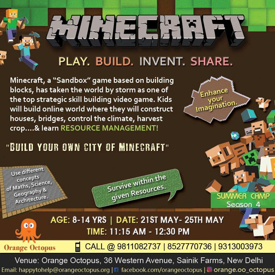 Minecraft - Workshop