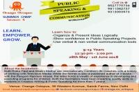 Public Speaking & Communication