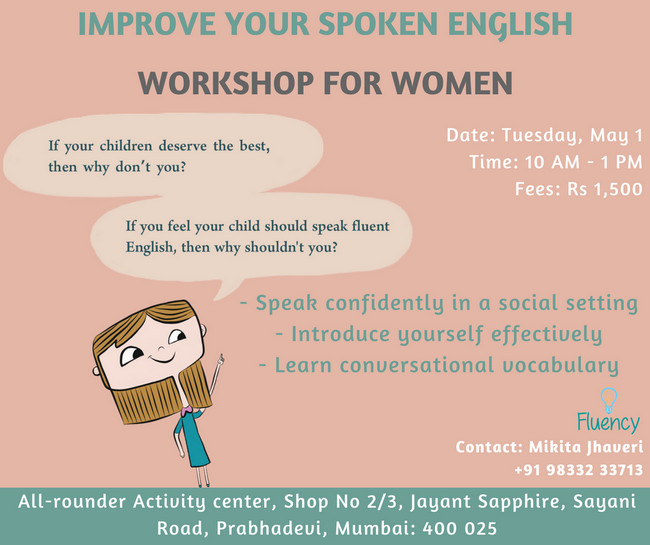 English Workshop For Women, Mumbai, Maharashtra, India