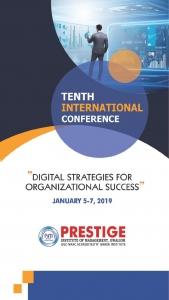 "10th International Conference 2019 ""Digital Strategies for Organizational Success"""