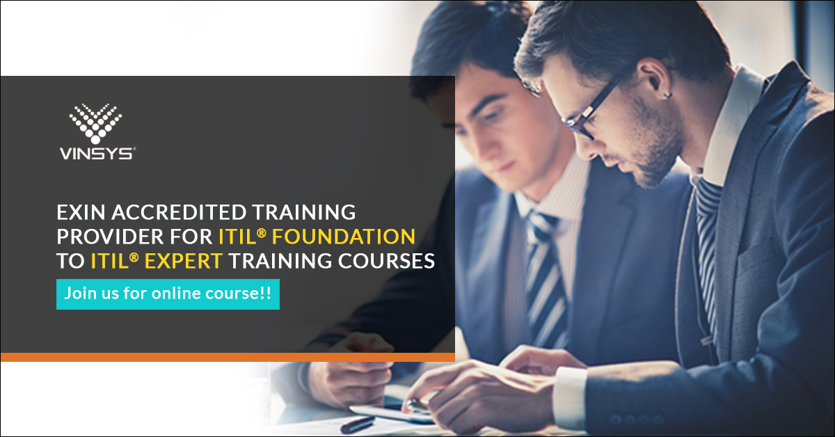 Enroll for ITIL Foundation Certification in Pune- ITIL Training in Pune by Vinsys, Pune, Maharashtra, India