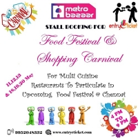 Book Your Stall in Food Festival & Shopping Carnival @ Mgm