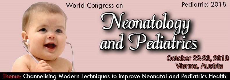 World Congress on Neonatology and Pediatrics, Vienna, Austria
