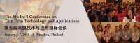 The 5th Int'l Conference on Thin Film Technology and Applications (TFTA 2019)