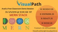 MERN STACK Classroom Demo session by Visualpath