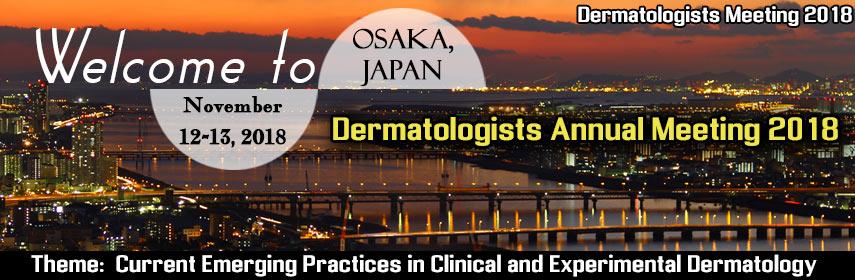 Dermatologists Annual Meeting 2018, Osaka, Japan