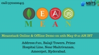Mean stack Online and Classroom Demo on 12th May @ 10 Am IST