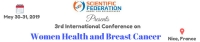 3rd International Conference on Women Health and Breast Cancer (Women Health-2019)