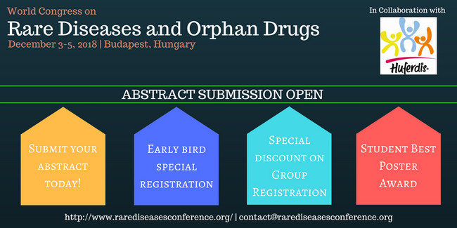World Congress on Rare Diseases & Orphan Drugs, Budapest, Hungary