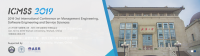 2019 3rd International Conference on Management Engineering, Software Engineering and Service Sciences (ICMSS 2019)--Ei and Scopus