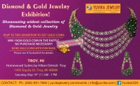 Diamond & Gold Jewelry Exhibition at Troy, Mi By Yuvika Jewelry