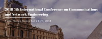 2018 5th International Conference on Communications and Network Engineering (ICCNE 2018)