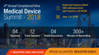 ComplianceOnline - 4th Annual Medical Device Summit 2018