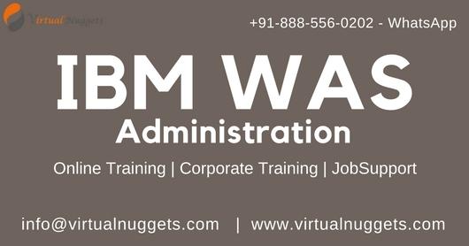 IBM WAS Admin Training| VirtualNuggets, Southeast, South Australia, Australia