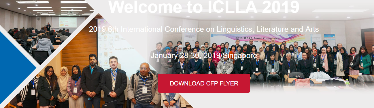 2019 6th International Conference on Linguistics, Literature